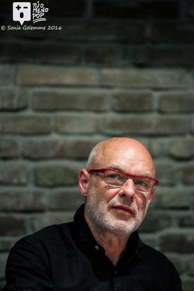 Conferenza stampa di Brian Eno