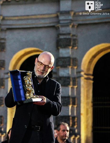 Premio Arlecchino d'Oro 2016 a Brian Eno