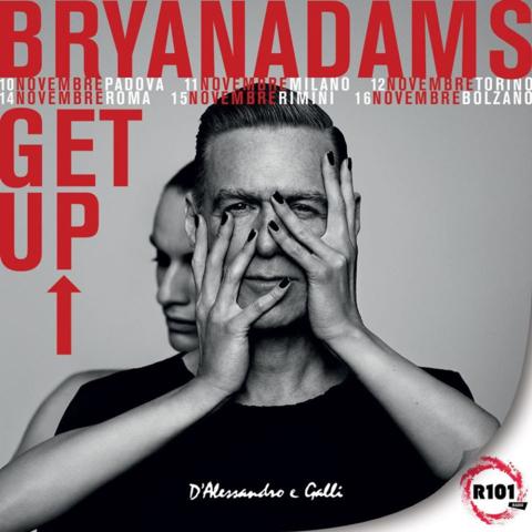 Bryan Adams, a novembre l'atteso ritorno in Italia col tour 'Get Up!'