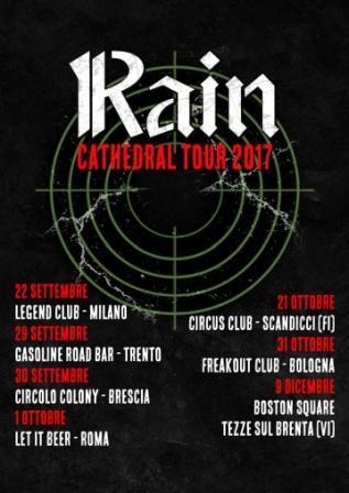 Rain cathedral tour 2017 piu o meno pop for Circus studio milano