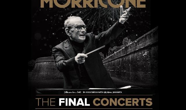 Ennio Morricone ed Elton John protagonisti davanti alle Mura di Lucca
